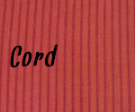 Stoffmuster: Cord