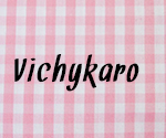 Stoffmuster: Vichykaros