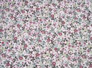 Stoffmuster - Cord-Blume-rosa, 100% Baumwolle