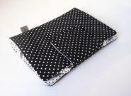 """eBook-Reader Tasche """"schwarze Punkte"""""""