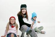 Kinder-Set aus Beaniemütze und Schal