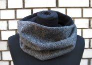 """kurzer Winter Loop-Schal """"Tweed"""""""