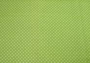 Stoffmuster - Punkte hell-und dunkelgrün, 100% Baumwolle