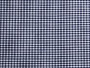 Stoffmuster - Vichykaro dunkelblau; 2mm, 100% Baumwolle