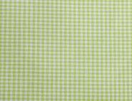 Stoffmuster - Vichykaro grün; 2mm, 100% Baumwolle