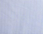 Stoffmuster - Vichykaro hellblau; 2mm, 100% Baumwolle