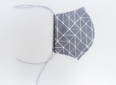 """Überzieher für FFP2 Masken """"Geometrie"""""""