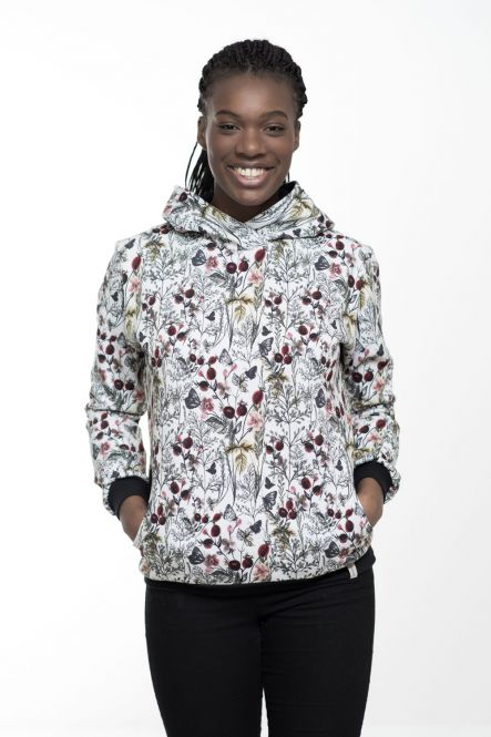 "Hoodie/ Sweatshirt ""Blumen"""