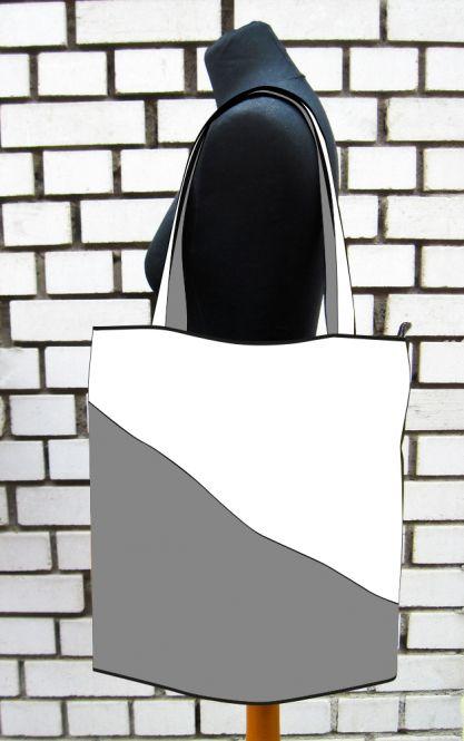 individuelle XL-Shopper-Schultertasche