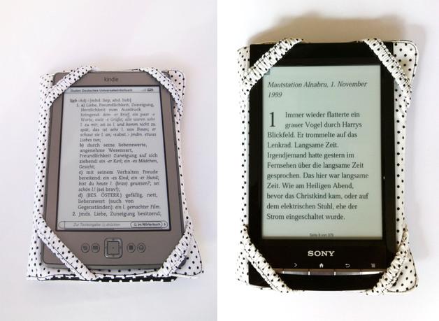 Jamata Onlineshop Ebook Reader Tasche Schwarze Punkte Online